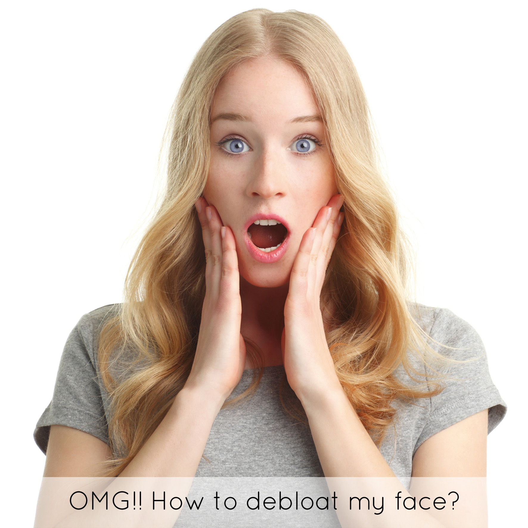 how to deal with a bloated face � klarity